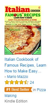 #1 Best Seller Italian COokbook