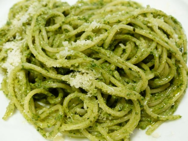 Angel Hair Pasta with Pesto