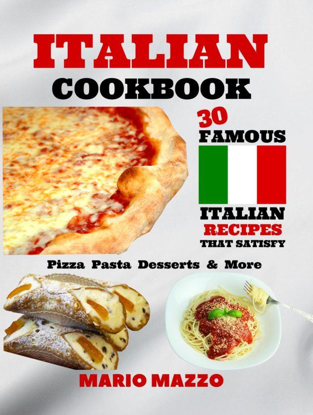 Italian Cookbook Paperback Front