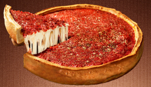 Chicago Deep Dish Pizza Pic