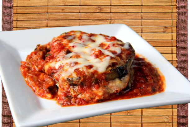 Eggplant Parmesan pic from Cookbook