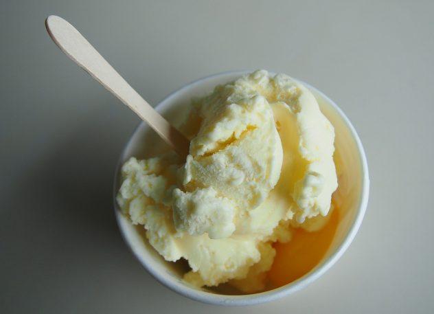 Gelato Ice Cream Photo for Italian Cookbook